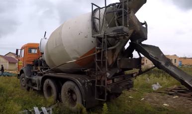 как перевозят бетонную смесь